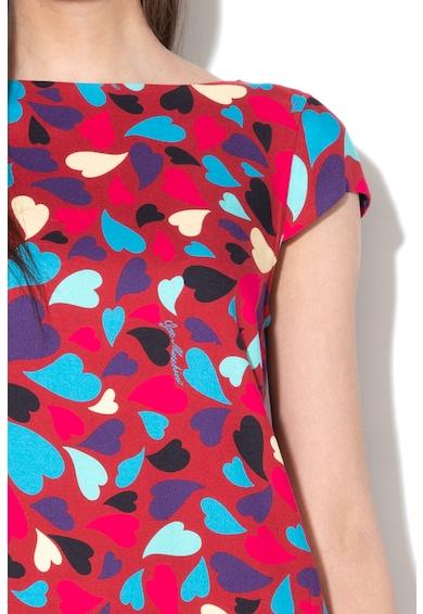 Love Moschino Egyenes fazonú ruha szíves mintával női
