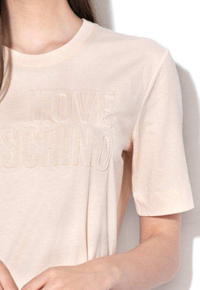 Love Moschino Póló dombornyomott logóval női