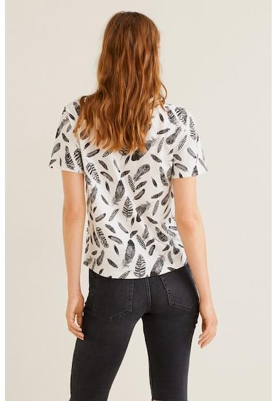 Mango Chalonew mintás póló női