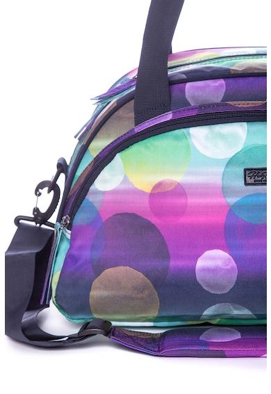 Heavy Tools Geanta duffle din material textil, cu imprimeu cu buline Femei