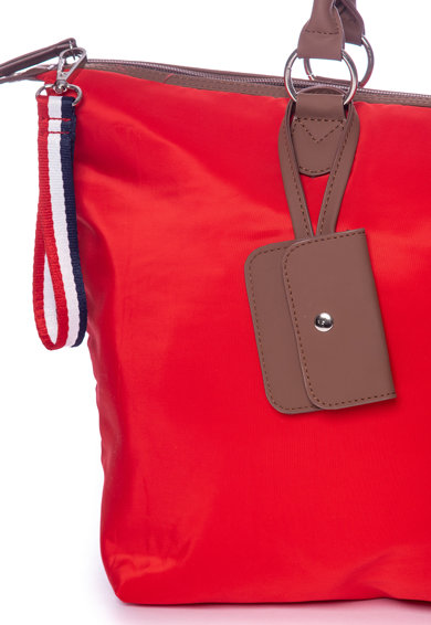 Heavy Tools Geanta shopper din material textil cu buzunar exterior pentru monede Femei