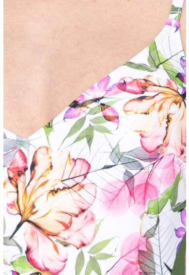 d024ae57d3 Triumph Delicate virágmintás egyrészes fürdőruha hálós anyagbetétekkel női