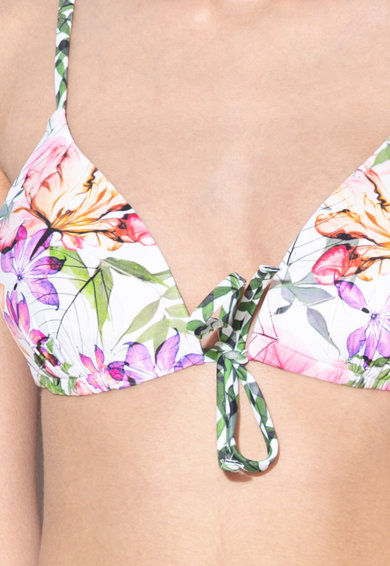 Triumph Sutien de baie cu push-up Delicate Flowers Femei