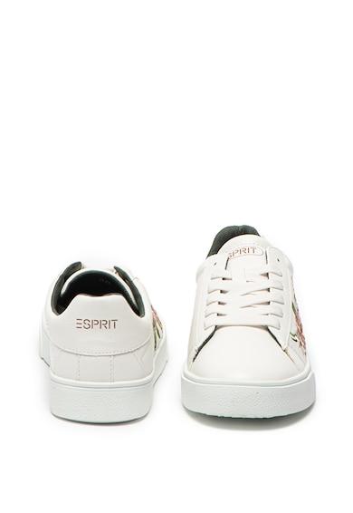 Esprit Спортни обувки от еко кожа с бродерия Жени
