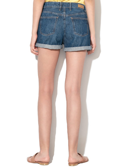 EDC by Esprit Pantaloni scurti din denim cu aspect decolorat Femei