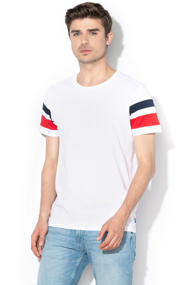 EDC by Esprit Tricou regular fit cu insertii contrastante Barbati