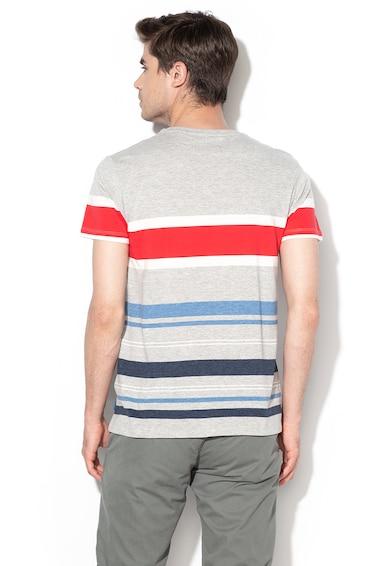 EDC by Esprit Normál fazonú csíkos póló férfi