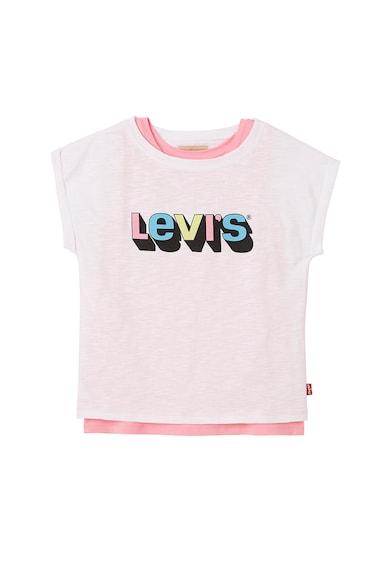 Levi's Kids Tricou cu model 2in1 Fete