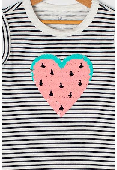 GAP A-vonalú ruha kétoldalú flitterekkel Lány