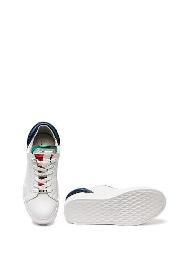 sixtyseven Pantofi sport flatform cu insertii de piele Femei