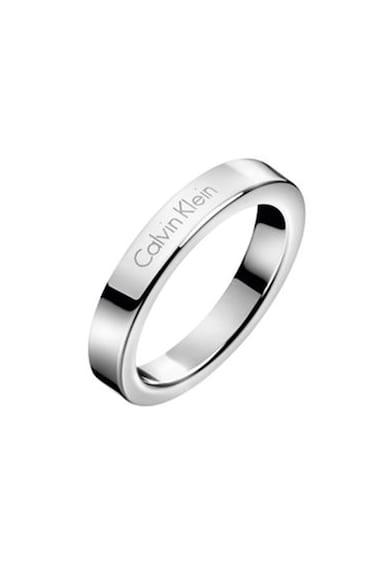 Calvin Klein Rozsdamentes acél gyűrű logóval női