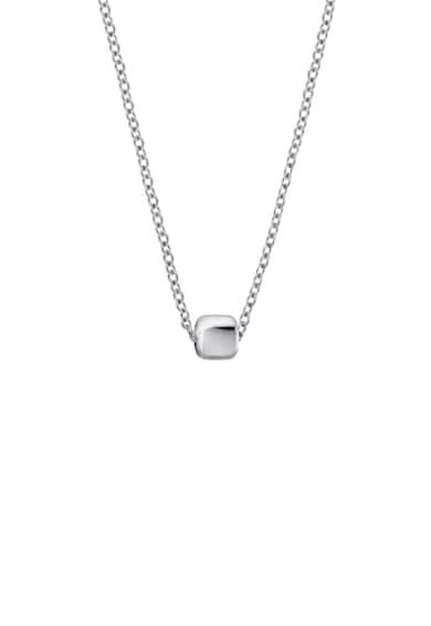 Calvin Klein Rozsdamentes acél nyaklánc kocka alakú medállal női