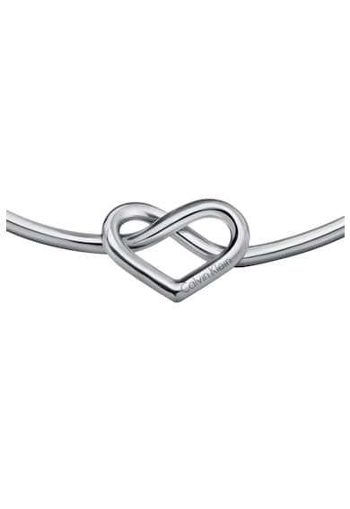 Calvin Klein Nyaklánc szív alakú részlettel női
