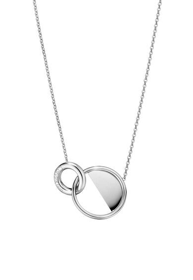Calvin Klein Rozsdamentes acél nyaklánc kerek medállal női