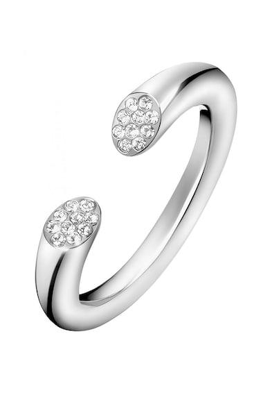 Calvin Klein Nyitott kialakítású gyűrű Swarovski kristályokkal női