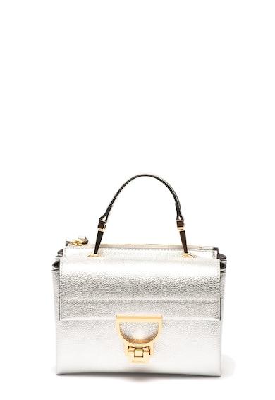 COCCINELLE Кожена чанта Arlettis с метализиран ефект Жени