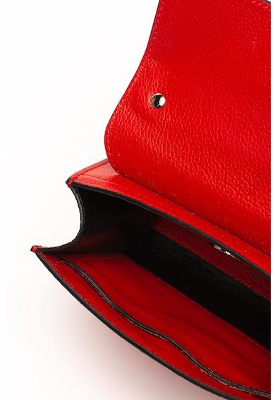 COCCINELLE Bőr keresztpántos táska fémrátéttel női