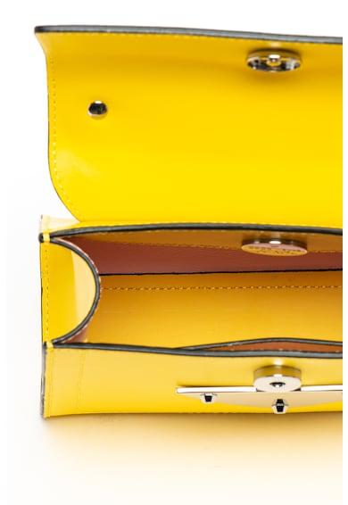 COCCINELLE Кожена чанта Design с релефно лого Жени