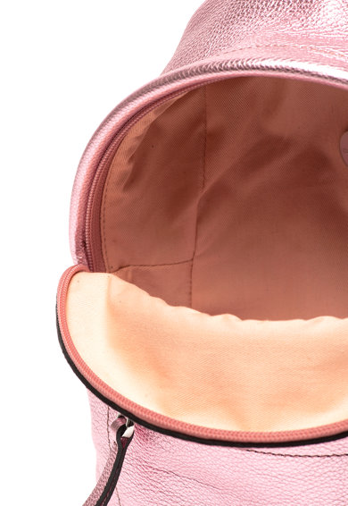 COCCINELLE Rucsac mic de piele cu aspect metalizat Leonie Femei