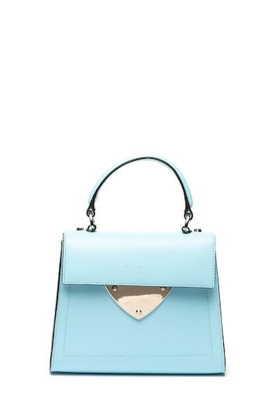 COCCINELLE Кожена чанта Design с метален детайл Жени