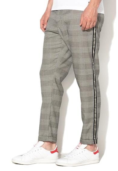 BLEND Pantaloni slim fit cu model in carouri Barbati