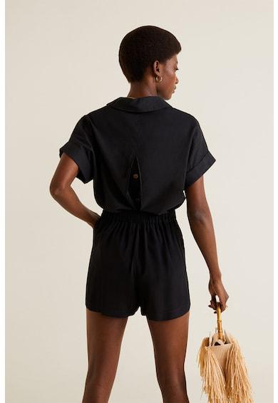 Mango Къс панталон Bow Жени