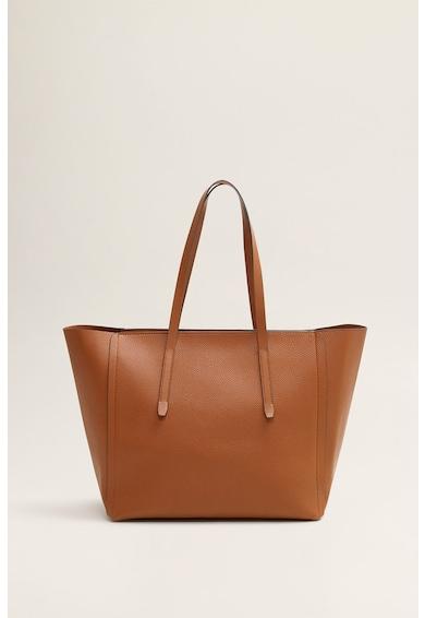 b366782fcd3f Nubuk bőr hatású táska - Mango (53080567-CU)