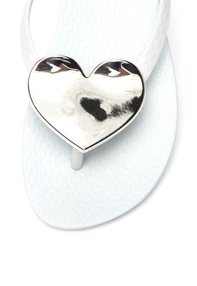 Ipanema Papuci flip-flop de cauciuc cu detaliu in forma de inima Femei