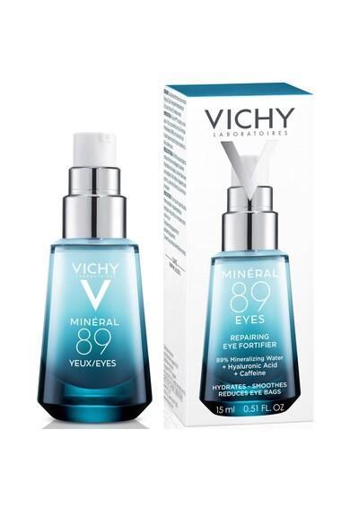 Vichy Gel contur ochi  Mineral 89, cu efect reparator si de fortifiere, 15ml Femei