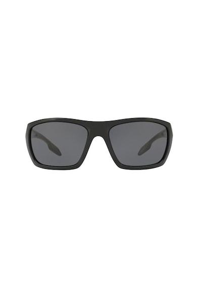 Prada Ochelari de soare dreptunghiulari cu lentile polarizate Barbati