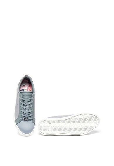 Ted Baker Спортни обувки Jymina от кожа и сатен Жени