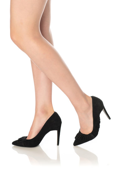 Ted Baker Pantofi stiletto de piele intoarsa Ruche Femei