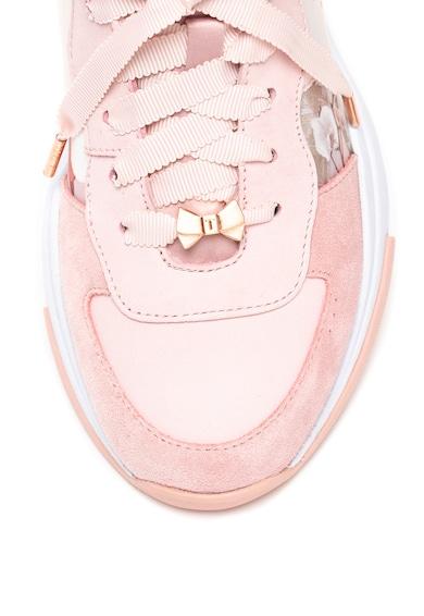 Ted Baker Спортни обувки Waverdi с велур и набук Жени