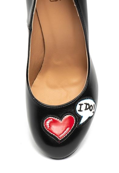 Love Moschino Vastag sarkú cipő női