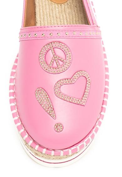 Love Moschino Műbőr bebújós espadrille cipő női