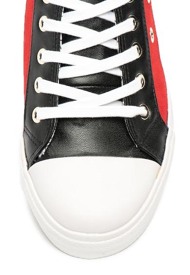 Love Moschino Logómintás műbőr cipő női