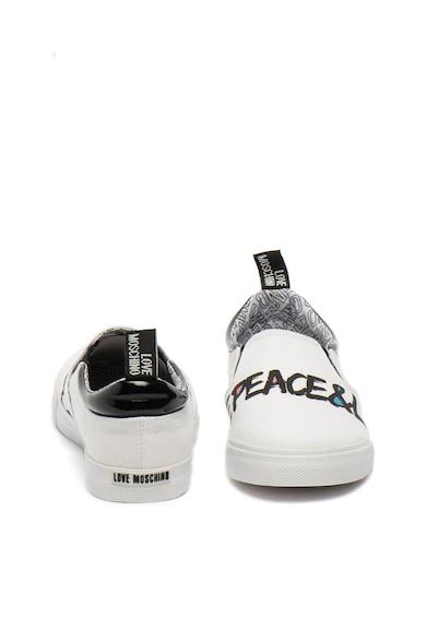 Love Moschino Обувки без закопчаване с лого Жени