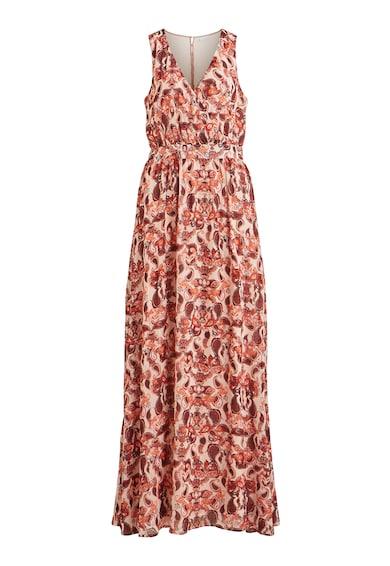 Vila Разкроена рокля със застъпено деколте Жени