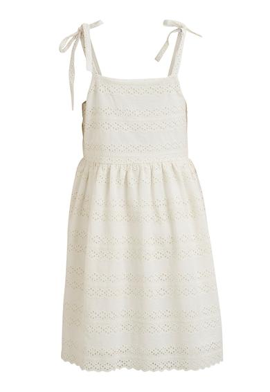 Vila Разкроена рокля с декоративни копчета Жени