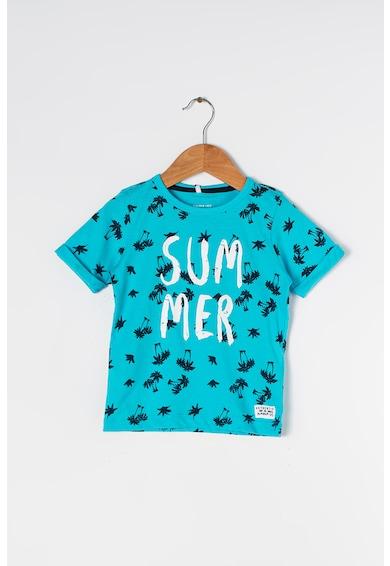 NAME IT Тениска и къс панталон с тропически десен Момчета