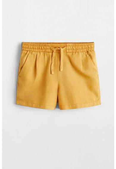 Mango Pantaloni scurti de lyocell cu snur Fast Fete