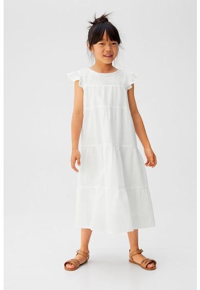 Mango Разкроена рокля Gespa Момичета