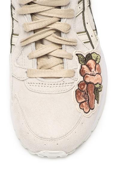 ASICS Tiger Велурени спортни обувки Gel-Lyte V с флорални бродерии Жени