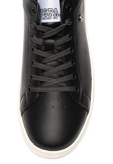 U.S. Polo Assn. Műbőr sneaker perforált részletekkel férfi