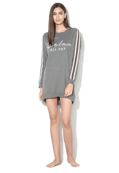 ESPRIT Bodywear Camasa de noapte cu aplicatie text Femei