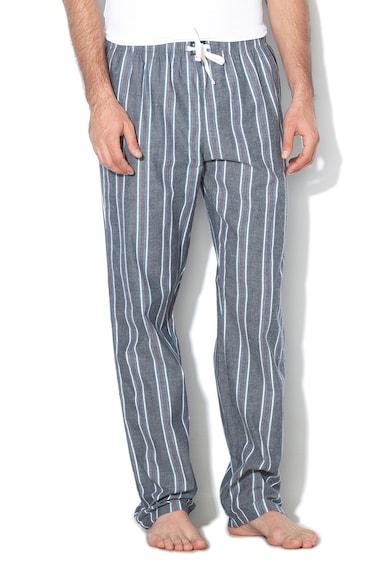 ESPRIT Bodywear Pantaloni de pijama in dungi, cu snur Jadon Barbati