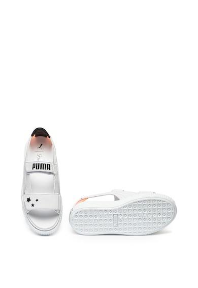 Puma Sandale flatform de piele Femei