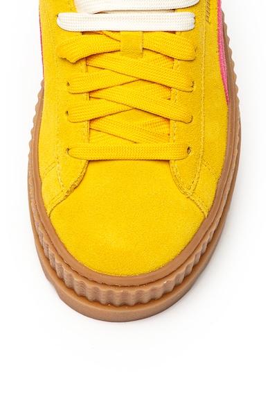 Puma Велурени спортни обувки Cleated Creeper Жени