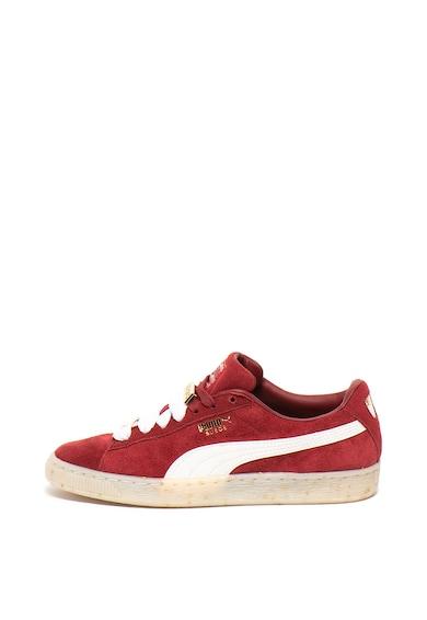 Puma Велурени спортни обувки Classic B-Boy Fab с метални апликации Жени