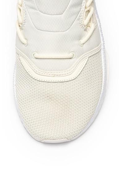 Puma Pantofi sport slip on din material textil si piele Tsugi Shinsei Raw Barbati